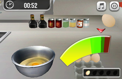 Screenshots of the Pocket Chef game for iPhone, iPad or iPod.