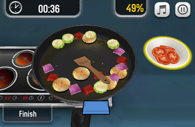 Capturas de pantalla del juego Pocket Chef para iPhone, iPad o iPod.