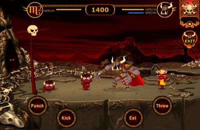 Screenshots of the Pocket Devil - Hell Yeah! game for iPhone, iPad or iPod.