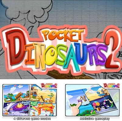 Download Pocket Dinosaurs 2: Insanely Addictive! iPhone free game.
