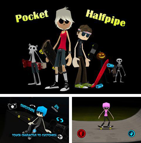 Download Pocket halfpipe iPhone free game.