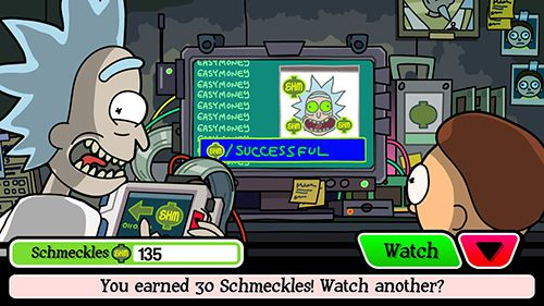 Download Pocket Mortys iPhone free game.