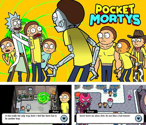 In addition to the game Armed Heroes Online for iPhone, iPad or iPod, you can also download Pocket Mortys for free.