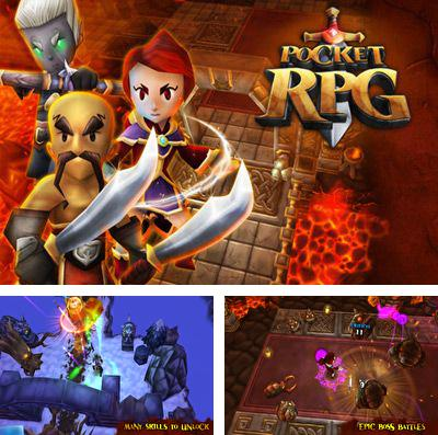 In addition to the game Deadly Mira: Ninja Fighting Game for iPhone, iPad or iPod, you can also download Pocket RPG for free.