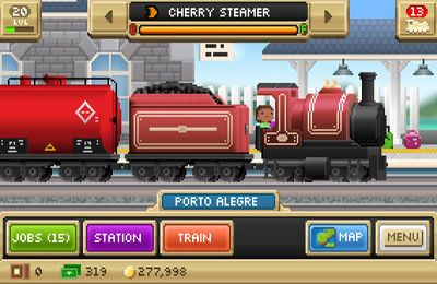 Screenshots of the Pocket Trains game for iPhone, iPad or iPod.