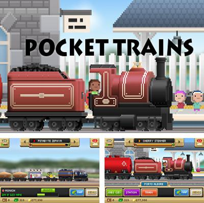 In addition to the game Space race: Endless racing flying for iPhone, iPad or iPod, you can also download Pocket Trains for free.