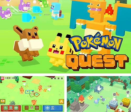 In addition to the game Fractal space for iPhone, iPad or iPod, you can also download Pokemon quest for free.