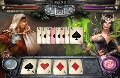 Screenshots of the The iKing game for iPhone, iPad or iPod.