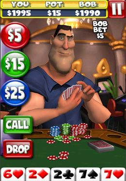 Download Poker With Bob iPhone free game.
