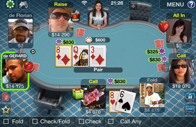 Capturas de pantalla del juego Pokerist Pro para iPhone, iPad o iPod.