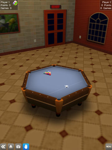 Free Pool break download for iPhone, iPad and iPod.