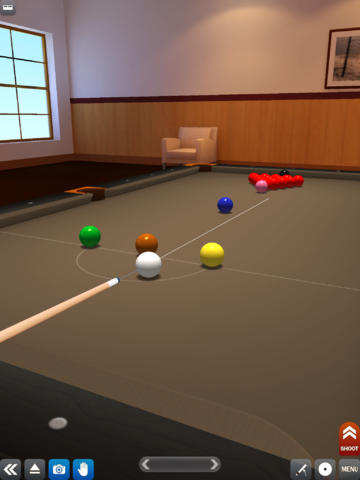 Screenshots vom Spiel Pool break für iPhone, iPad oder iPod.