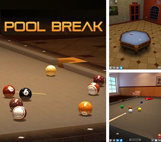 In addition to the game Tens! for iPhone, iPad or iPod, you can also download Pool break for free.