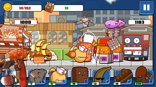 Kostenloser Download von Pop karts food fighters für iPhone, iPad und iPod.