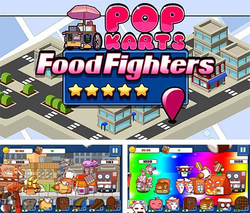 In addition to the game Blade of Darkness for iPhone, iPad or iPod, you can also download Pop karts food fighters for free.