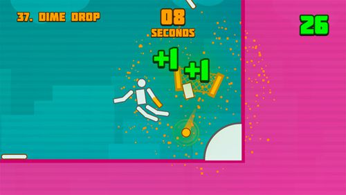 Screenshots vom Spiel Popping sports für iPhone, iPad oder iPod.