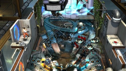 Free Portal pinball download for iPhone, iPad and iPod.
