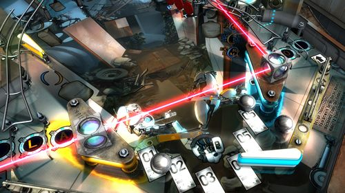 Screenshots of the Portal pinball game for iPhone, iPad or iPod.