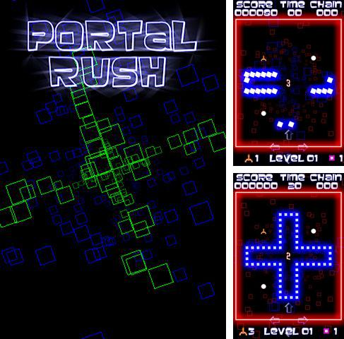 In addition to the game Where's My Cheese? for iPhone, iPad or iPod, you can also download Portal rush for free.