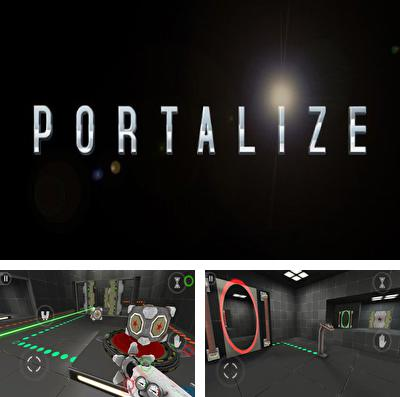 In addition to the game Can knockdown striker for iPhone, iPad or iPod, you can also download Portalize for free.