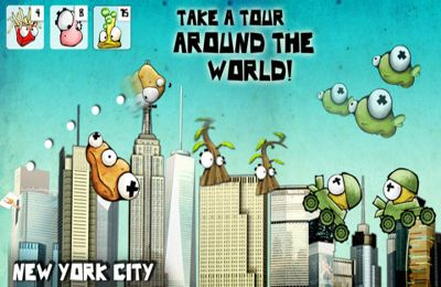 Screenshots of the Pota-Toss World Tour: a Fun Location Based Adventure game for iPhone, iPad or iPod.