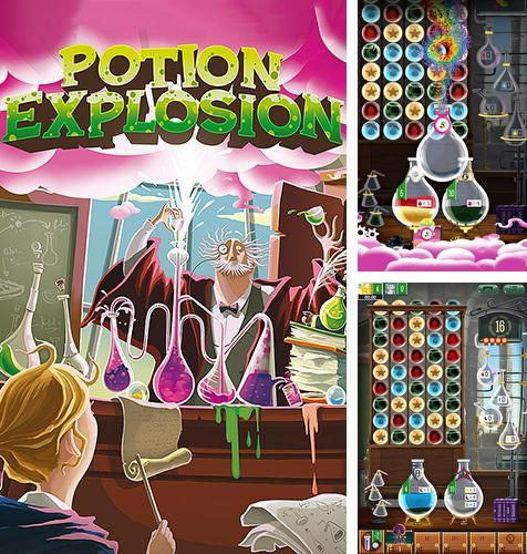 In addition to the game Wake the Cat for iPhone, iPad or iPod, you can also download Potion explosion for free.