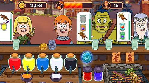 Download Potion punch iPhone free game.