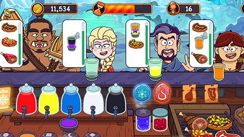 Screenshots do jogo Potion punch para iPhone, iPad ou iPod.