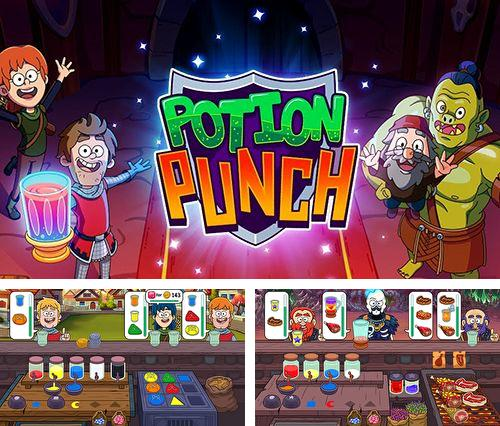In addition to the game Ingress for iPhone, iPad or iPod, you can also download Potion punch for free.