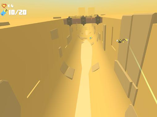 Screenshots of the Power hover game for iPhone, iPad or iPod.
