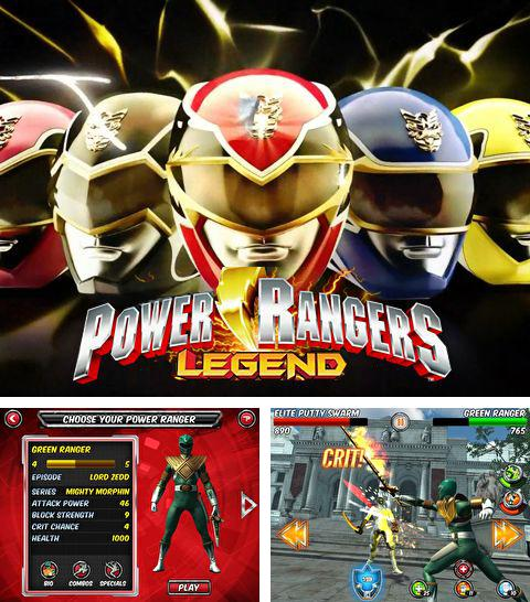 Kostenloses iPhone-Game Power Rangers: Legenden See herunterladen.