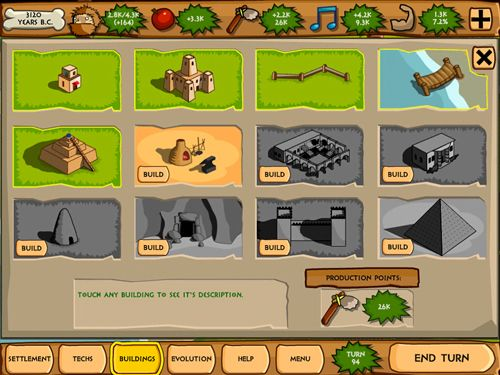 Descarga gratuita de Pre-civilization: Marble age para iPhone, iPad y iPod.