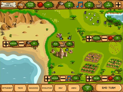 Capturas de pantalla del juego Pre-civilization: Marble age para iPhone, iPad o iPod.