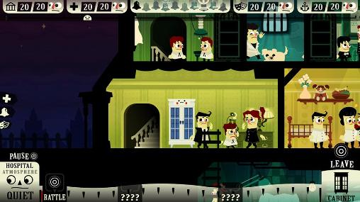 Screenshots vom Spiel Haunt the house: Terrortown für iPhone, iPad oder iPod.