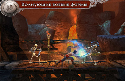 Screenshots of the Prince of Persia: The Shadow and the Flame game for iPhone, iPad or iPod.