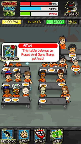 Screenshots of the Prison life game for iPhone, iPad or iPod.