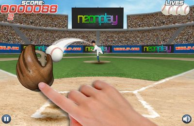 Download Pro Baseball Catcher iPhone free game.