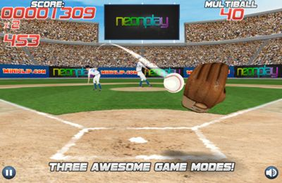 Screenshots do jogo Pro Baseball Catcher para iPhone, iPad ou iPod.