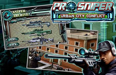 Download Pro Sniper: Urban City Conflict iPhone free game.
