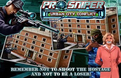 Descarga gratuita de Pro Sniper: Urban City Conflict para iPhone, iPad y iPod.