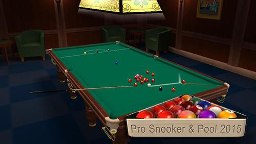 Pro snooker and pool 2015