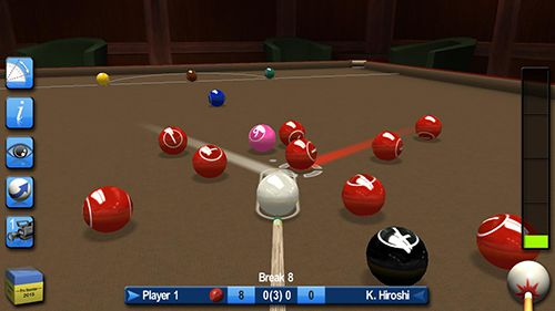 Kostenloser Download von Pro snooker and pool 2015 für iPhone, iPad und iPod.