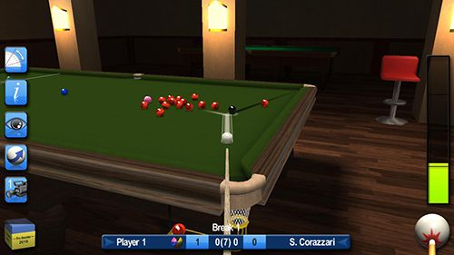 Screenshots vom Spiel Pro snooker and pool 2015 für iPhone, iPad oder iPod.
