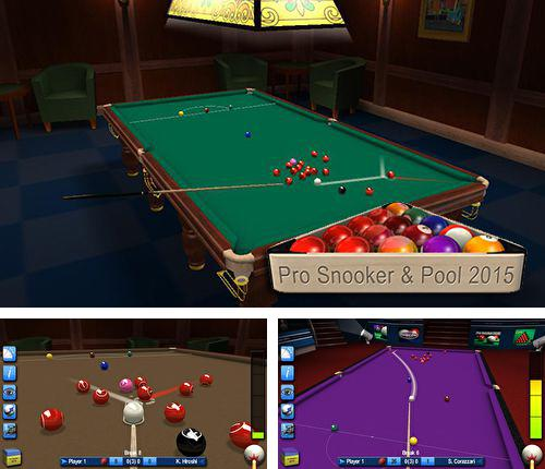 In addition to the game Aquamarine for iPhone, iPad or iPod, you can also download Pro snooker and pool 2015 for free.
