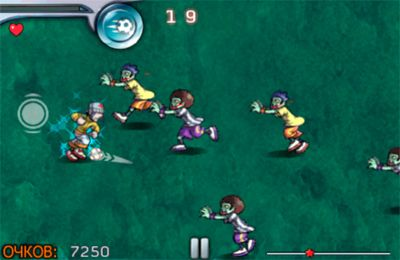 Download Pro Zombie Soccer iPhone free game.