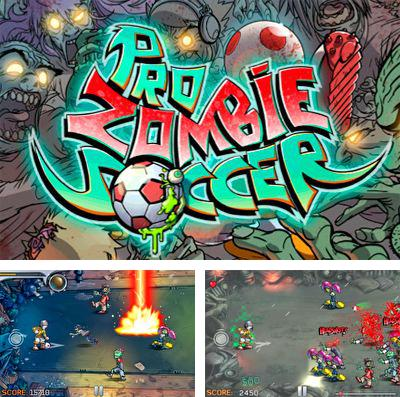In addition to the game King hunt for iPhone, iPad or iPod, you can also download Pro Zombie Soccer for free.