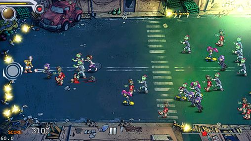 Screenshots of the Pro zombie soccer: Apocalypse еdition game for iPhone, iPad or iPod.