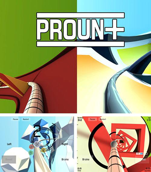 In addition to the game Sniper attack: Kill or be killed for iPhone, iPad or iPod, you can also download Proun+ for free.