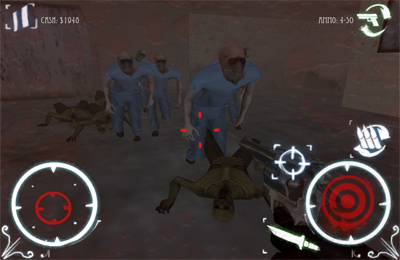 Screenshots of the Psychosis: Zombies game for iPhone, iPad or iPod.
