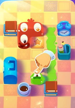 Capturas de pantalla del juego Pudding Monsters para iPhone, iPad o iPod.